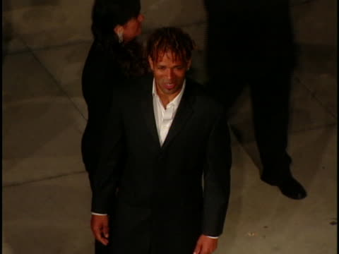 mario van peebles at the academy awards vanity fair at mortons west hollywood in west hollywood ca - オスカーパーティー点の映像素材/bロール