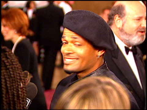 mario van peebles at the afi honors honoring clint eastwood entrances at the beverly hilton in beverly hills, california on march 1, 1996. - american film institute stock videos & royalty-free footage