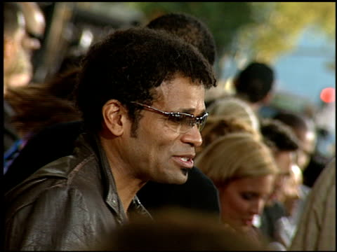mario van peebles at the 'collateral' premiere at orpheum theatre in los angeles, california on august 2, 2004. - orpheum theatre stock videos & royalty-free footage