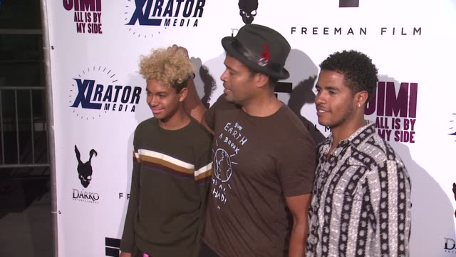mario van peebles at the jimi all is by my side los angeles premiere at arclight cinemas on september 22 2014 in hollywood california - arclight cinemas hollywood stock-videos und b-roll-filmmaterial