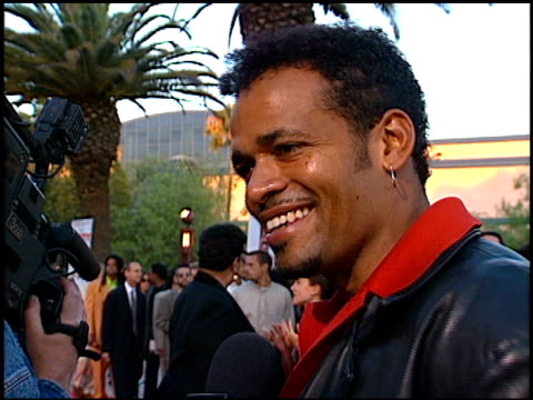 mario van peebles at the premiere of 'the nutty professor' at universal amphitheatre in universal city california on june 28 1996 - 1996 stock videos and b-roll footage