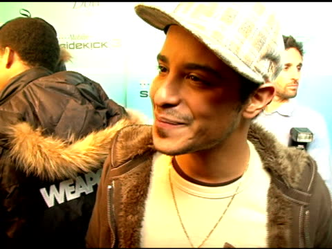 mario vasquez on his film festival plans and partying at sundance at the 2007 sundance film festival myspace nights presented by dove and tmobile... - t in the park stock-videos und b-roll-filmmaterial