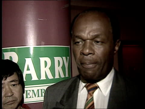 marion barry's political comeback usa washington dc int cms marion barry interview sot i've had 30 years of service in this community most people are... - forgiveness stock videos and b-roll footage