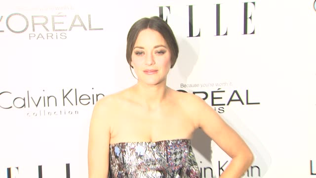 Marion Cotillard at 20th Annual ELLE Women In Hollywood in Beverly Hills CA on 10/21/13
