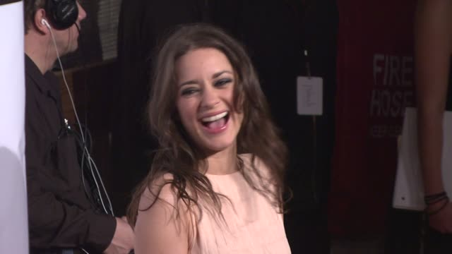 marion cotillard at the 17th annual gotham awards presented by ifp at steiner studios in brooklyn, new york on november 27, 2007. - independent feature project stock videos & royalty-free footage
