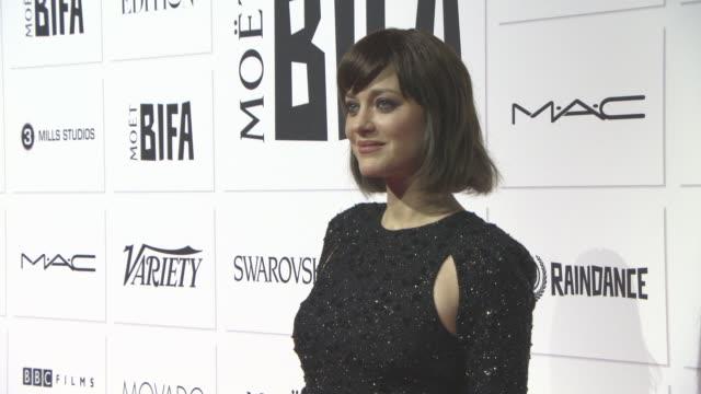 Marion Cotillard at The Moet British Independent Film Awards at The Old Billingsgate on December 6 2015 in London England