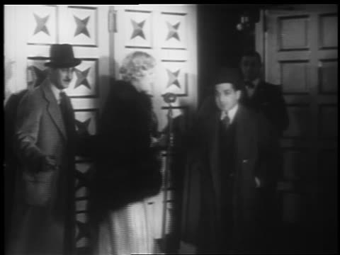 marion davies speaking into microphone at jumbo opening / hippodrome theater baltimore - 1935 stock videos & royalty-free footage