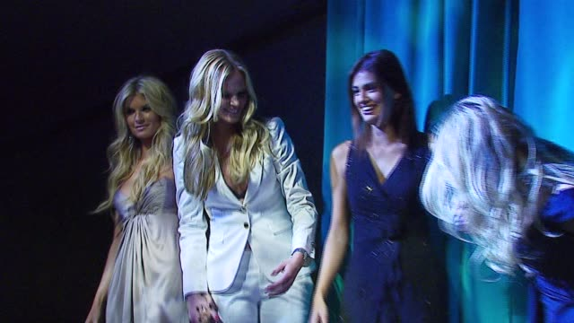 marisa miller anne v yamila diazrahi and veronica varekova at the sports illustrated swimsuit issue party at the pdc in los angeles california on... - sports illustrated swimsuit issue stock videos & royalty-free footage