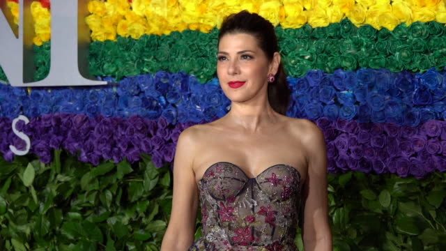 marisa tomei at radio city music hall on june 09, 2019 in new york city. - annual tony awards stock videos & royalty-free footage