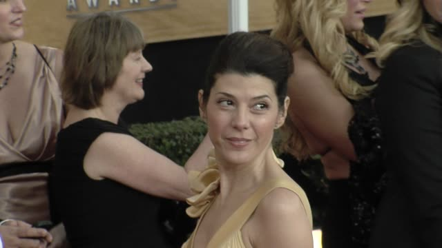 marisa tomei at the 15th annual screen actors guild awards part 7 at los angeles ca. - marisa tomei stock videos & royalty-free footage