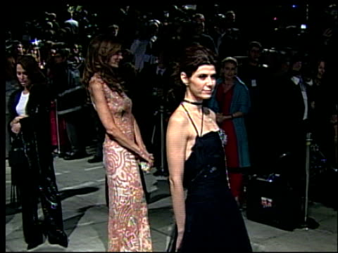 marisa tomei at the 2002 academy awards vanity fair party at morton's in west hollywood, california on march 24, 2002. - marisa tomei stock videos & royalty-free footage