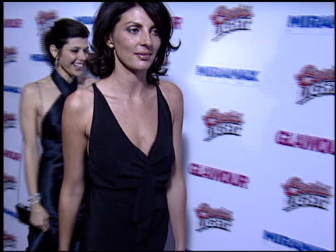 marisa tomei at the 2003 golden globes paramount party at the beverly hilton in beverly hills, california on january 19, 2003. - marisa tomei stock videos & royalty-free footage
