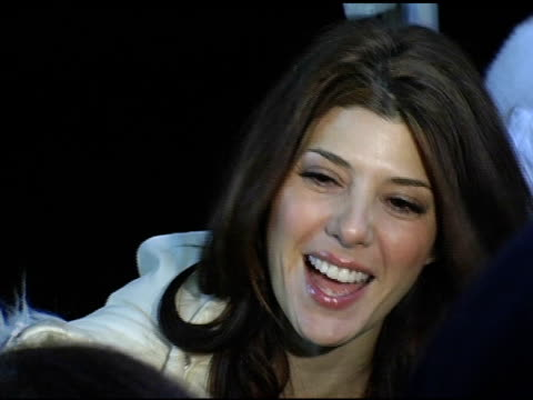marisa tomei at the 2005 sundamce film festival 'loverboy' premiere at the eccles theatre in park city utah on january 24 2005 - marisa tomei stock videos & royalty-free footage