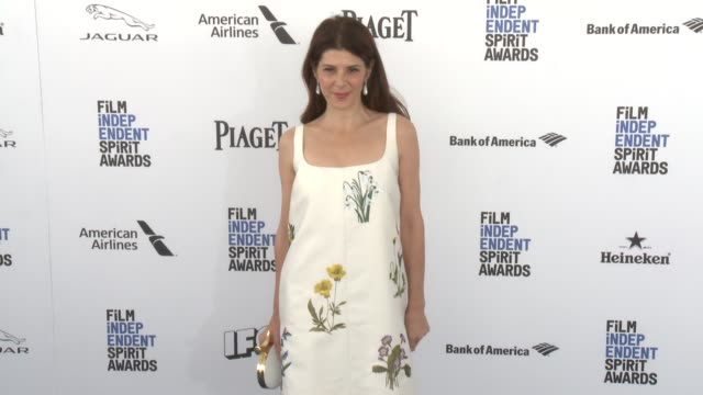 marisa tomei at the 2016 film independent spirit awards - arrivals on february 27, 2016 in santa monica, california. - marisa tomei stock videos & royalty-free footage