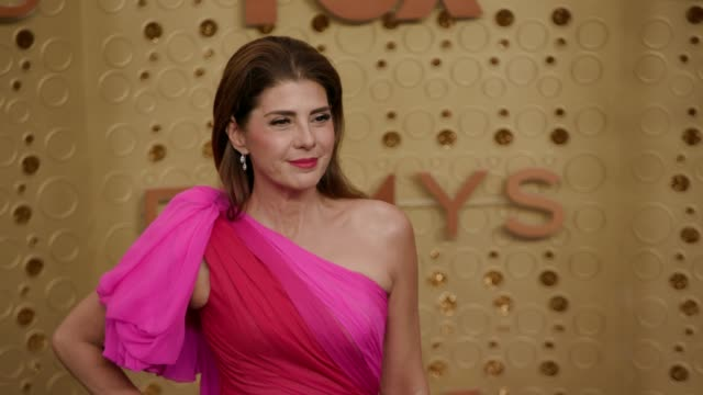 marisa tomei at the 71st emmy awards - arrivals at microsoft theater on september 22, 2019 in los angeles, california. - marisa tomei stock videos & royalty-free footage