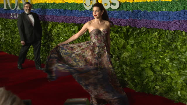 marisa tomei at the 73rd annual tony awards - marisa tomei stock videos & royalty-free footage
