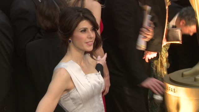 marisa tomei at the 81st academy awards arrivals part 6 at los angeles ca. - marisa tomei stock videos & royalty-free footage