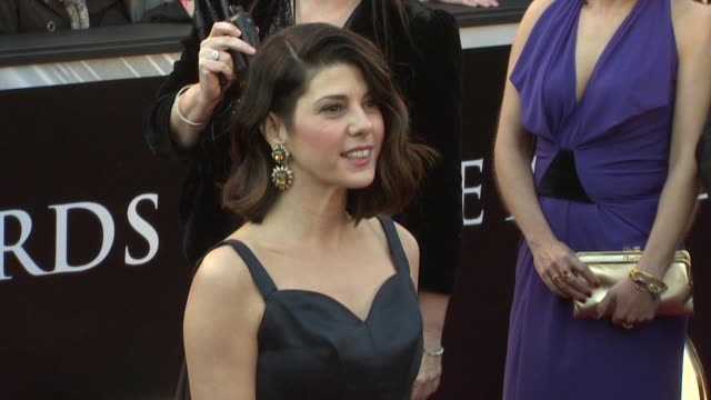 marisa tomei at the 83rd annual academy awards arrivals at hollywood ca - marisa tomei stock videos & royalty-free footage