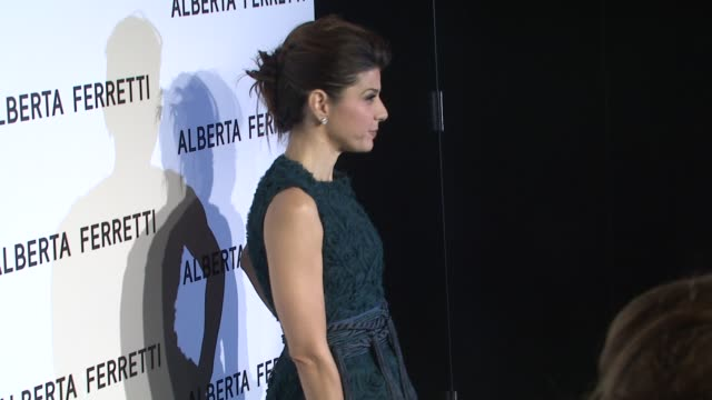 marisa tomei at the alberta ferretti celebrates first us flagship store opening at los angeles ca. - marisa tomei stock videos & royalty-free footage