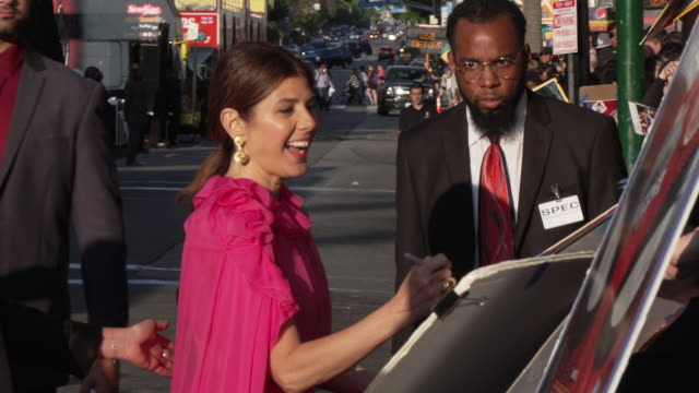 """marisa tomei at the audi at the world premiere of """"spider-man: far from home"""" in los angeles, ca 6/26/19 - marisa tomei stock videos & royalty-free footage"""