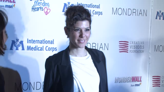 marisa tomei at the children mending hearts benefit at los angeles ca. - marisa tomei stock videos & royalty-free footage
