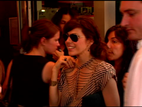 marisa tomei at the 'factotum' new york premiere hosted by the new york observer and ifc fims at ifc center in new york new york on august 8 2006 - marisa tomei stock videos & royalty-free footage