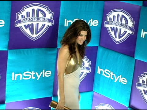 marisa tomei at the in style magazine and warner brothers studios 6th annual golden globe party at the beverly hilton in beverly hills, california on... - marisa tomei stock videos & royalty-free footage