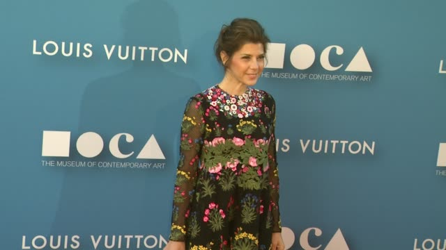 marisa tomei at the museum of contemporary art, los angeles annual gala presented by louis vuitton at the geffen contemporary at moca on may 30, 2015... - marisa tomei stock videos & royalty-free footage