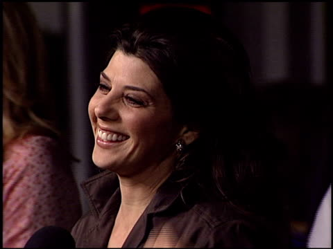 marisa tomei at the premiere of 'the guru' at universal citywalk cinema in universal city, california on january 23, 2003. - marisa tomei stock videos & royalty-free footage