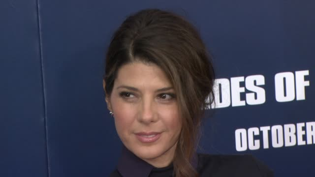 marisa tomei at the 'the ides of march' new york premiere red carpet at new york ny - marisa tomei stock videos & royalty-free footage