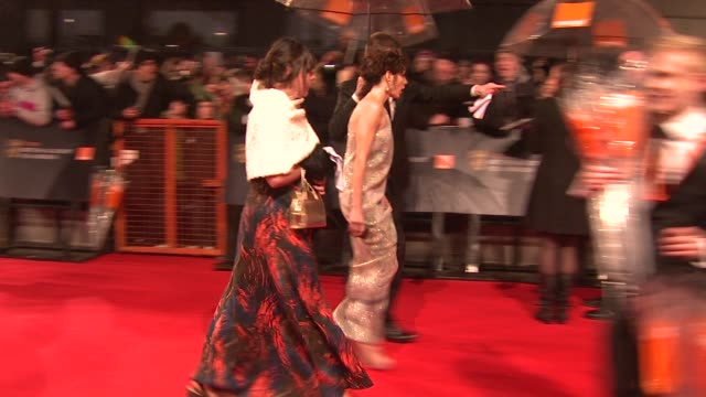 marisa tomei at the the orange british academy film awards at london - marisa tomei stock videos & royalty-free footage