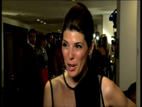 marisa tomei on the quality of the one & only at the one & only cape town grand opening at cape town . - marisa tomei stock videos & royalty-free footage