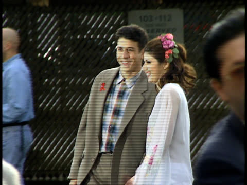 marisa tomei posing for photographs. - marisa tomei stock videos & royalty-free footage