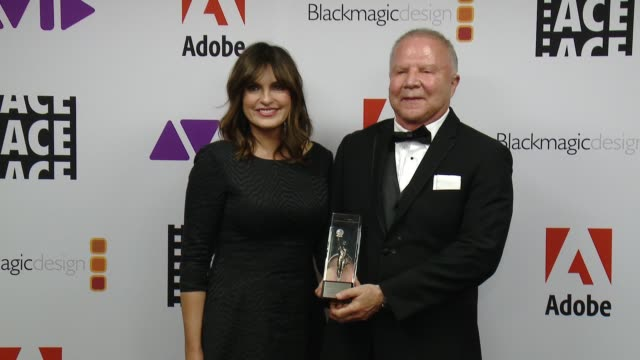 Mariska Hargitay Leon OrtizGil at 68th Annual ACE Eddie Awards in Los Angeles CA