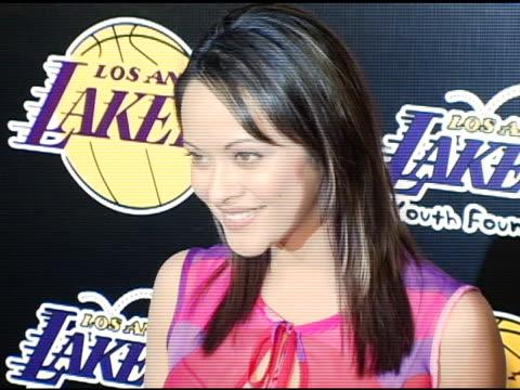 Marissa Ramirez at the LA Lakers and Celebrities 2nd Annual Las Vegas Poker Night at Barker Hangar in Santa Monica California on April 14 2005