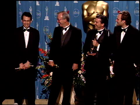 Mark A Lasoff at the 1998 Academy Awards at the Shrine Auditorium in Los Angeles California on March 23 1998