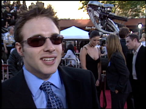 mark at the 'terminator 3: rise of the machines' premiere on june 30, 2003. - terminator 3: rise of the machines stock videos & royalty-free footage