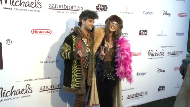 Mark Ballas and BC Jean at Dream Halloween 2017 Costume Party Benefiting Starlight Children's Foundation Presented By Michaels and Aaron Brothers at...