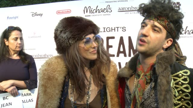 INTERVIEW Mark Ballas and BC Jean on why they wanted to support Starlight Children's Fundation what fans can expect from their performance and talks...