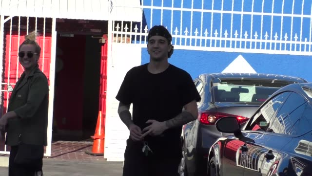 Mark Ballas BC Jean at the Dancing With The Stars Studio in Hollywood in Celebrity Sightings in Los Angeles