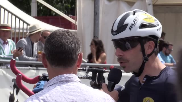 mark beaumont gets prepared for his world record attempt for the longest distance cycled in an hour on a penny farthing at the herne hill velodrome... - herne hill stock videos & royalty-free footage
