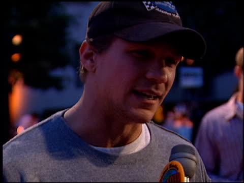 mark blucas at the 'hardball' premiere at paramount studios in hollywood california on september 14 2001 - paramount studios stock videos and b-roll footage