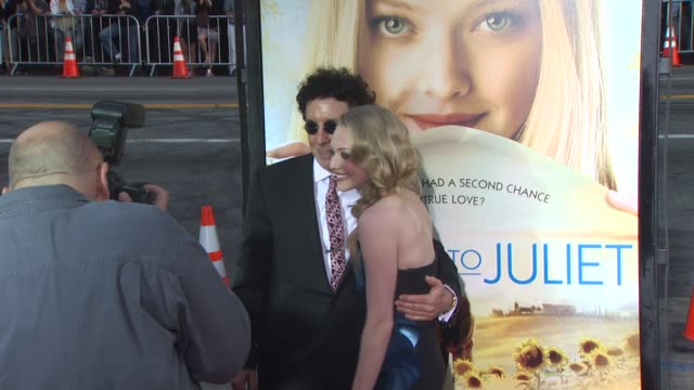 Mark Canton and Amanda Seyfried at the 'Letters To Juliet' Premiere at Hollywood CA