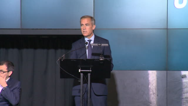 mark carney bank of england governor announcing alan turing mathematician and code breaker will appear on the new fifty pound note - mathematician stock videos & royalty-free footage