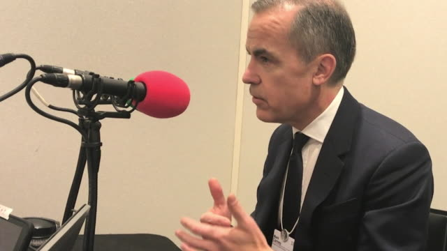 Mark Carney comments on the UK economy's growth post Brexit