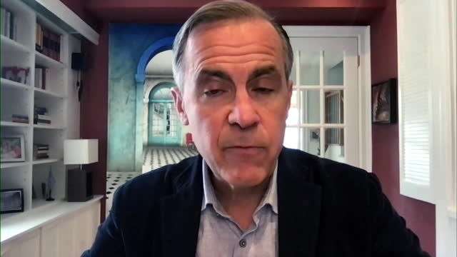 mark carney saying china has committed to net zero carbon emissions by 2060 - former stock videos & royalty-free footage