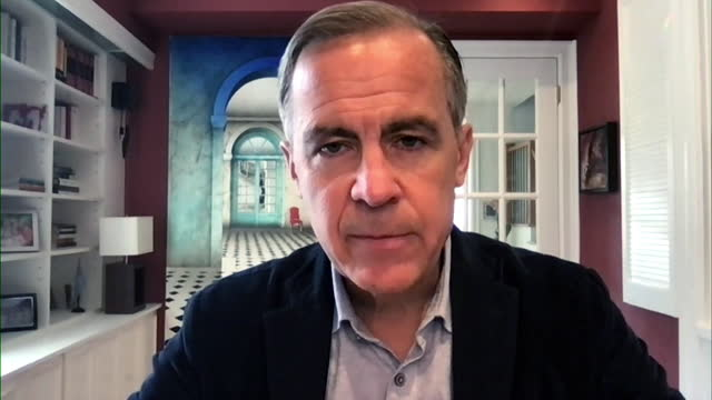 mark carney saying every business will need to adjust their business models to reach net zero carbon emissions - adjusting stock videos & royalty-free footage