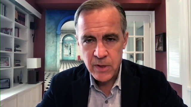 mark carney saying the cost of meat production is likely to go up in the future - information medium stock videos & royalty-free footage