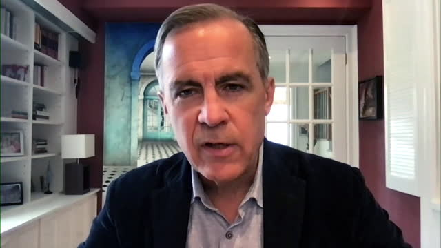 mark carney saying there was no government lobbying with the bank of england when he was governor - canadian politics stock videos & royalty-free footage