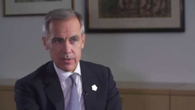 mark carney saying there will be more borrowing with the current state of the economy - northeast stock videos & royalty-free footage